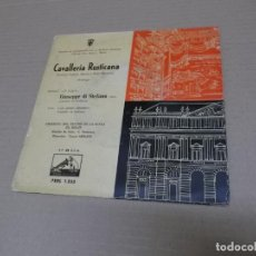 Discos de vinilo: GIUSEPPE DI STEFANO (EP) CAVALLERIA RUSTICANA AÑO 1959. Lote 136189498