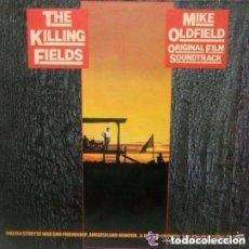 Disques de vinyle: MIKE OLDFIELD, THE KILLING FIELDS, SOUNDTRACK LP SPAIN 1984. Lote 136190126