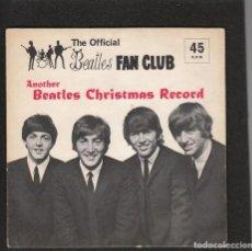 Discos de vinilo: THE BEATLES: FLEXI DISCO DE NAVIDAD,1964-COMPLETO CON ENCARTE Y PERFECTO!!. Lote 136194602