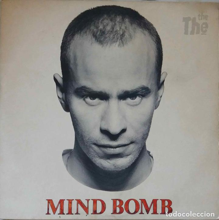 THE THE. MIND BOMB. LP ORIGINAL UK CON FUNDA INTERIOR CON LETRAS (Música - Discos - LP Vinilo - Pop - Rock - New Wave Extranjero de los 80)