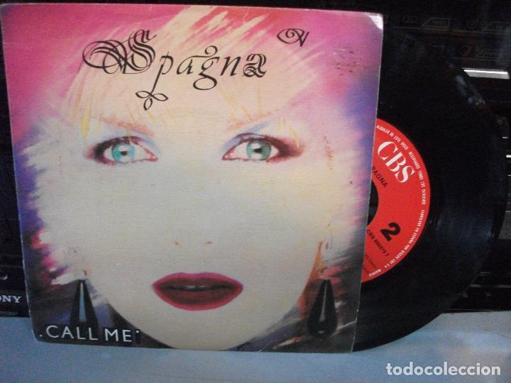 SPAGNA, CALL ME, SINGLE SPAIN, ITALO-DISCO 1987 (Música - Discos - Singles Vinilo - Disco y Dance)