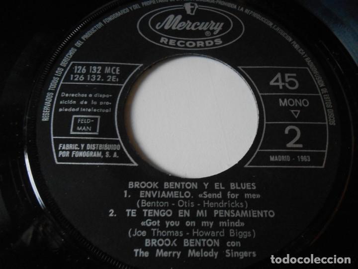 Discos de vinilo: BROOK BENTON y EL BLUES, EP, MI FIEL CONFESION + 3, AÑO 1963 - Foto 5 - 136217430