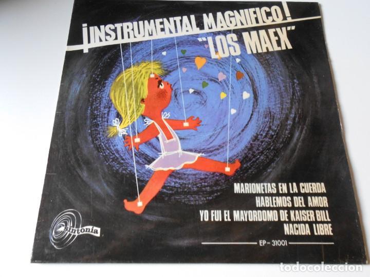 MAEX, EP, MARIONETAS EN LA CUERDA + 3, AÑO 1967 (Música - Discos de Vinilo - EPs - Grupos Españoles 50 y 60)