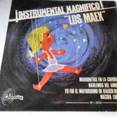 Discos de vinilo: MAEX, EP, MARIONETAS EN LA CUERDA + 3, AÑO 1967. Lote 136226938