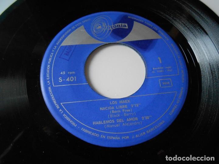 Discos de vinilo: MAEX, EP, MARIONETAS EN LA CUERDA + 3, AÑO 1967 - Foto 3 - 136226938