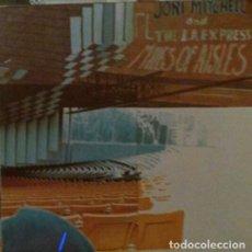 Discos de vinilo: JONI MITCHELL.MILES OF AISLES.2LP.. Lote 136235350