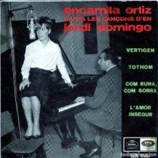 Discos de vinilo: ENCARNITA ORTIZ / VERTIGEN + 3 (EP 1965). Lote 136235442
