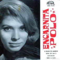 Discos de vinilo: ENCARNITA POLO / LA BALADA DEL AMANECER / MARINERO + 2 (EP 1963). Lote 136235490