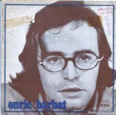 Discos de vinilo: ENRIC BARBAT / ADEU / REDOXON FRAPPE (SINGLE 1970). Lote 136235658