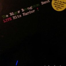 Discos de vinilo: THE EDGAR BROUGHTON BAND.LIVE HITS HARDER.LP.. Lote 136235782