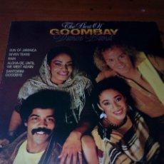 Discos de vinilo: THE BEST OF GOOMBAY. DANCE BAND. C17V. Lote 136240458