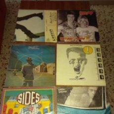 Discos de vinilo: LOTE 6 DISCOS DE VINILO BOWIE IGGY POP PETER GABRIEL BRAND X ANTHONY PHILLIPS (EX GENESIS). Lote 136241222