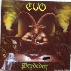 Discos de vinilo: EVO (HEAVY ESPAÑOL) PERDEDOR / CONTIGO (SINGLE PROMO 1985). Lote 136242018