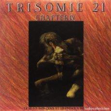 Discos de vinilo: 2LP TRISOMIE 21 CHAPTER IV VINILO DARKWAVE SYNTH DARK ENTRIES. Lote 177122052