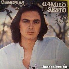 Discos de vinilo: CAMILO SESTO - MEMORIAS - LP ARIOLA SPAIN REEDICION 1983 - PORTADA DOBLE. Lote 136248350