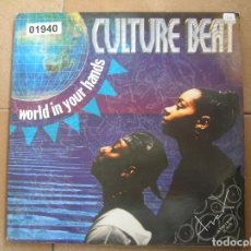 Discos de vinilo: CULTURE BEAT ?– WORLD IN YOUR HANDS - DANCE POOL 1994 - MAXI - PLS. Lote 136248566