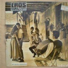 Discos de vinilo: EROS RAMAZZOTTI_EN CIERTOS MOMENTOS_VINILO 12'' EDICION ESPAÑOLA 1987 COMO NUEVO!!!. Lote 136255330