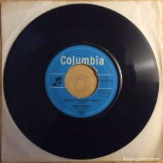 Discos de vinilo: MIKE BERRY SINGLE COLUMBIA TRIBUTE TO BUDDY HOLLY. Lote 136259682