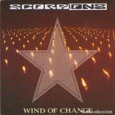 Discos de vinilo: SCORPIONS WIND OF CHANGE + *RESTLESS NIGHTS. Lote 136266150