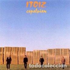 Discos de vinilo: ITOIZ -ESPALOIAN SINGLE...HEGAL EGITEN + TAXI HORIAK,BUEN ESTADO. Lote 136266402