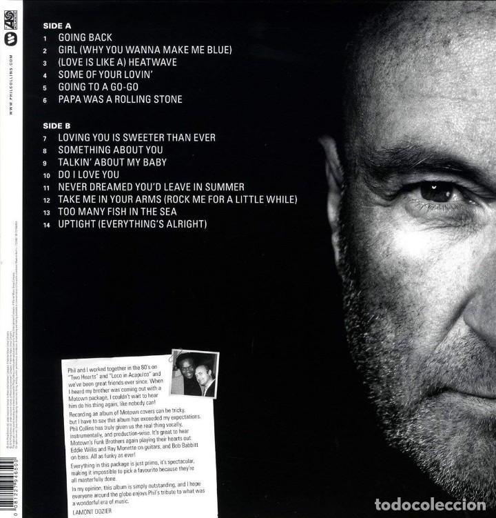 Discos de vinilo: PHIL COLLINS THE ESSENTIAL GOING BACK LP NUEVO ... GENESIS - Foto 2 - 136271470