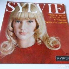 Discos de vinilo: SYLVIE VARTAN, EP, COMME UN GARÇON + 3, AÑO 1967 MADE IN FRANCE. Lote 136271730