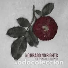 Discos de vinilo: NO BRAGGING RIGHTS ?– THE CONCRETE FLOWER HARDCORE,EDICION LIMITADA ,VINILO COLOR. Lote 136271818