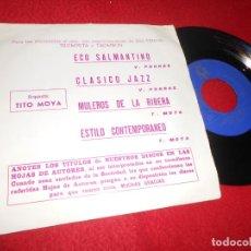 Discos de vinilo: TITO MOYA ECO SALMANTINO/CLASICO JAZZ/ESTILO CONTEMPORANEO +1 EP 1971 BCD PROMO. Lote 136272726