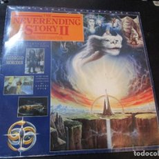 Discos de vinilo: GIORGIO MORODER / ROBERT FOLK - THE NEVERENDING STORY II (LP, ALBUM) 1990 GERMANY. Lote 136292510