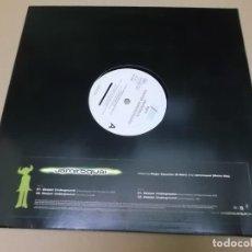Discos de vinilo: JAMIROQUAI (MX) DEEPER UNDERGROUND +3 TRACKS AÑO 1997 – EDICION U.K.. Lote 136292786