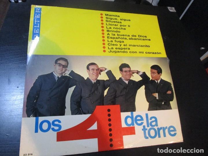LOS 4 DE LA TORRE LP 1966 BELTER (Música - Discos - LP Vinilo - Grupos Españoles 50 y 60)