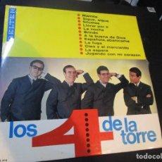 Discos de vinilo: LOS 4 DE LA TORRE LP 1966 BELTER . Lote 145353744