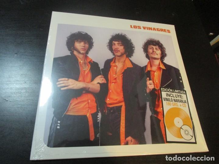 LOS VINAGRES - LOS VOLCANES LP 2018/ PRECINTADO (Música - Discos - LP Vinilo - Grupos Españoles de los 90 a la actualidad)