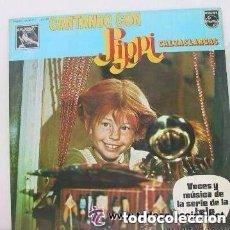 Discos de vinilo: PIPPI CALZASLARGAS - CANTANDO CON... - LP PHILIPS 1975. Lote 136302754