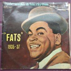 Discos de vinilo: FATS WALLER – FATS 1935-37. EDICION UK. Lote 136303634