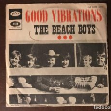 Discos de vinilo: THE BEACH BOYS – GOOD VIBRATIONS SELLO: CAPITOL RECORDS – CLF 5676 FORMATO: VINYL, 7 , 45 RPM. Lote 136304734