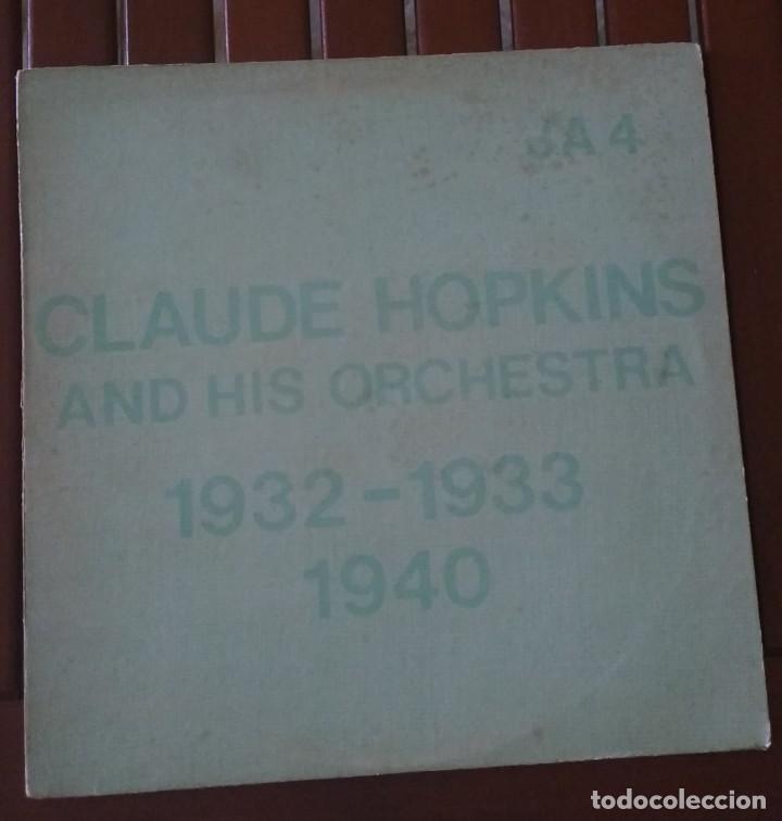 CLAUDE HOPKINS – PREVIOUSLY UNISSUED SIDES (1932 -1933) RARE SIDES (1940). EDICION US (Música - Discos - LP Vinilo - Jazz, Jazz-Rock, Blues y R&B)
