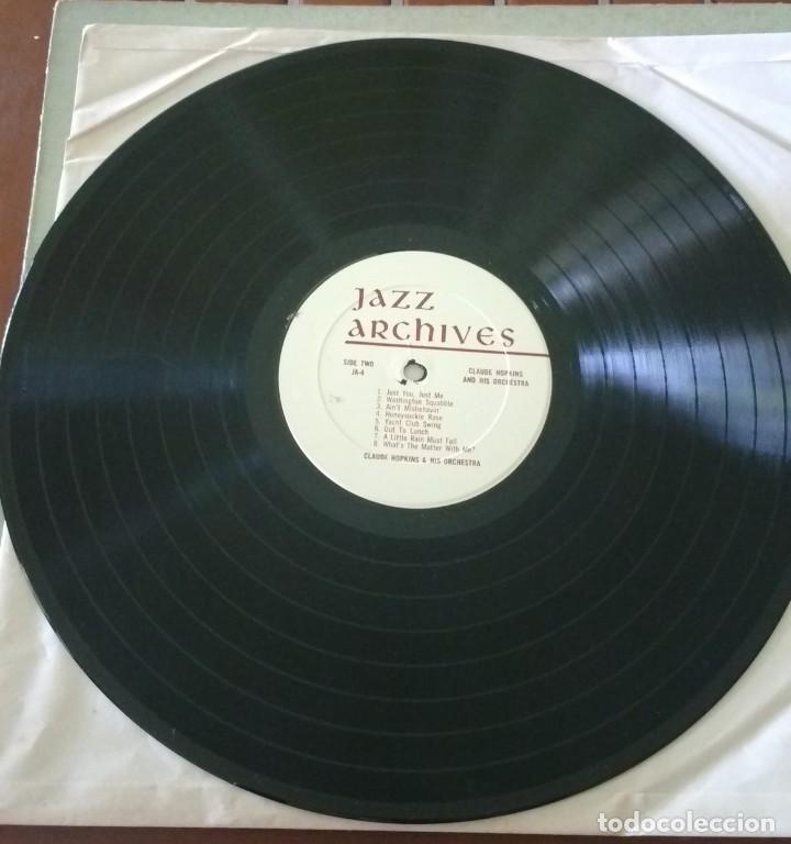 Discos de vinilo: Claude Hopkins – Previously Unissued Sides (1932 -1933) Rare Sides (1940). EDICION US - Foto 3 - 136307518