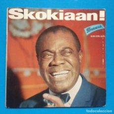 Discos de vinilo: LOUIS ARMSTRONG-SKOKIAAN. Lote 136308822