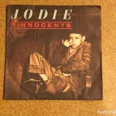 Discos de vinilo: LES INNOCENTS ?– JODIE SELLO: VIRGIN ?– 90292 FORMATO: VINYL, 7 45 RPM, SINGLE PAÍS: FRANCE . Lote 136314186