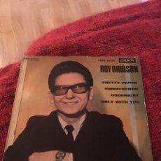 Discos de vinilo: ROY ORBISON VINILO PRETTY PAPER , SUMMERSONG , GOOD NIGHT LONDON 1964. Lote 136315552