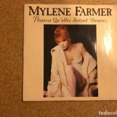 Discos de vinilo: MYLENE FARMER – POURVU QU'ELLES SOIENT DOUCES SELLO: POLYDOR – 887 847-7 FORMATO: VINYL, 7. Lote 136315922
