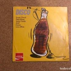 Discos de vinilo: DISCO SELLO: COCA-COLA ?– COK 2 FORMATO: VINYL, 7 , 33 ? RPM PAÍS: FRANCE FECHA: 1980 . Lote 136316734