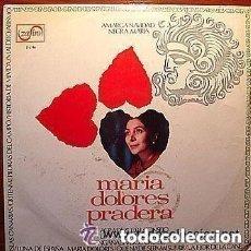 Discos de vinilo: MARIA DOLORES PRADERA - EXITOS (ISLAS CANARIAS...) - LP ZAFIRO SPAIN 1969. Lote 136323854