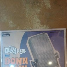 Discos de vinilo: THE DEEJAYS MEET DOWN TOWN 1975-1980 . MADE IN JAMAICA. LP PRECINTADO.. Lote 136334785