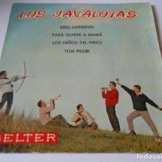 Discos de vinilo: JAVALOYAS, EP, ERES DIFERENTE + 3, AÑO 1960. Lote 136346274