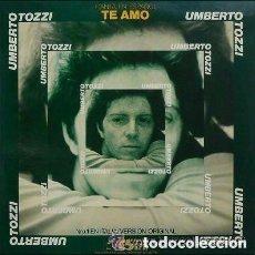 Discos de vinilo: UMBERTO TOZZI, TE AMO, MAXI-SINGLE PROMO SPAIN 1977. Lote 136348514