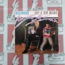 Discos de vinilo: ALMODOVAR Y MC NMARA SATAN S.A. VOY A SE MAMA MAXI. Lote 136348702