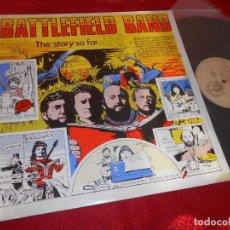 Discos de vinil: BATTLEFIELD BAND THE STORY SO FAR...LP 1982 TEMPLE RECORDS ESCOCIA SCOTLAND UK. Lote 136351118