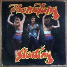 Discos de vinilo: MOMO YANG - STARTING LP 1976. Lote 136352402